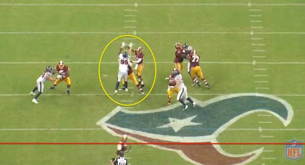 J.J. Watt Dominating - Screen Shot Courtesy of NFL.com Gamepass