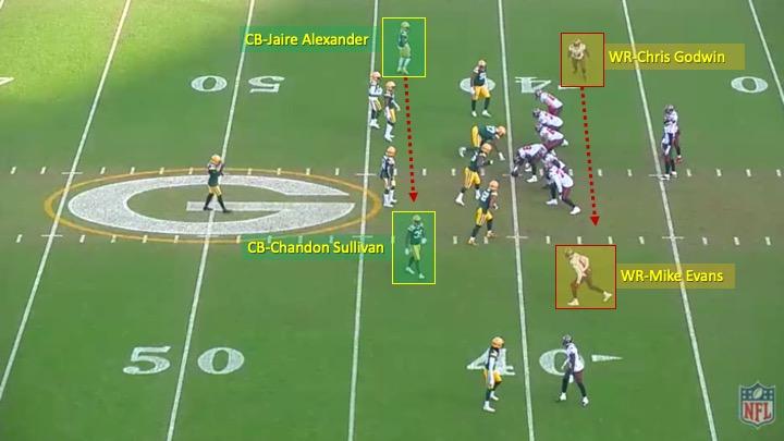 Week 20 - Bucs O vs. Packers D_1stplay